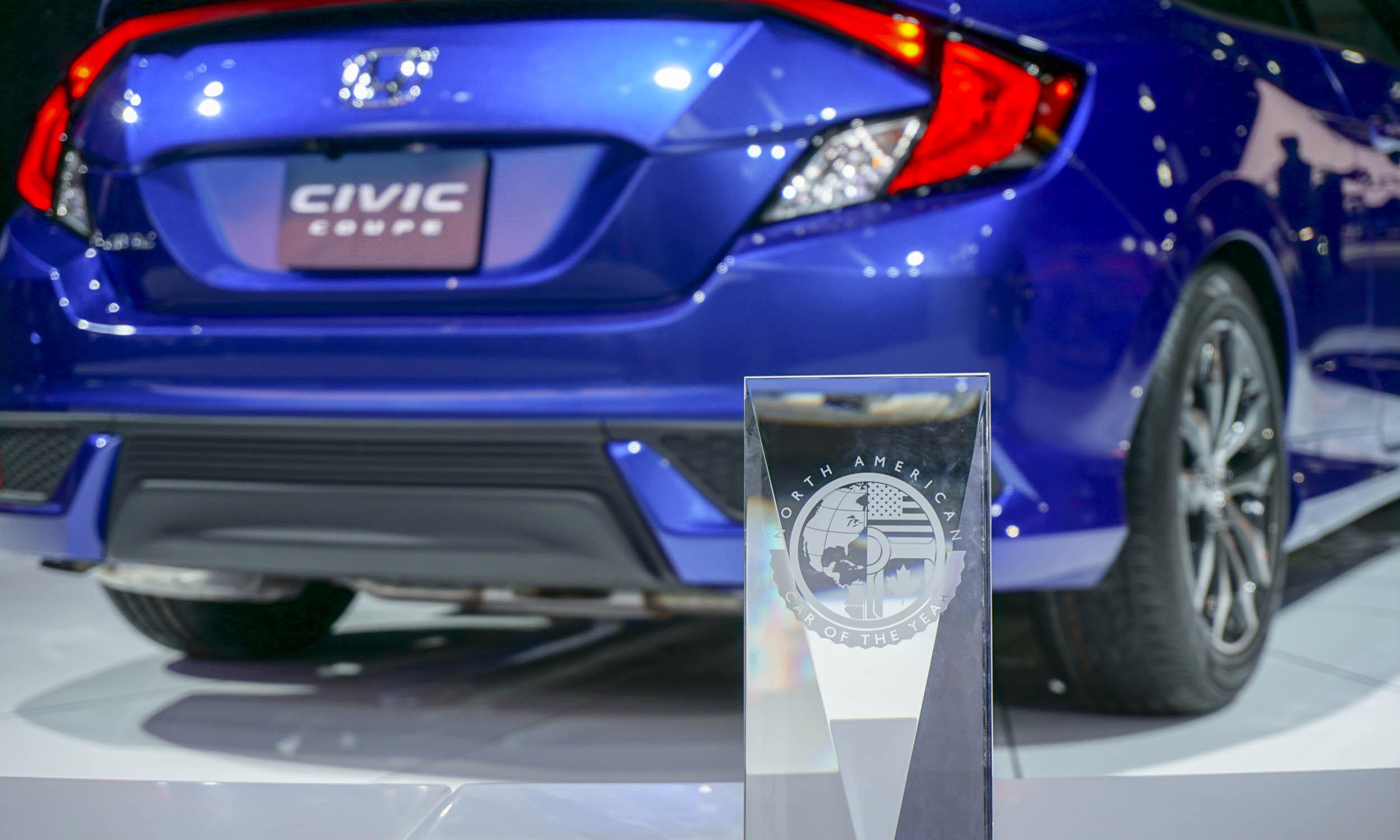Названы претенденты на звание «Автомобиль года» в США 2