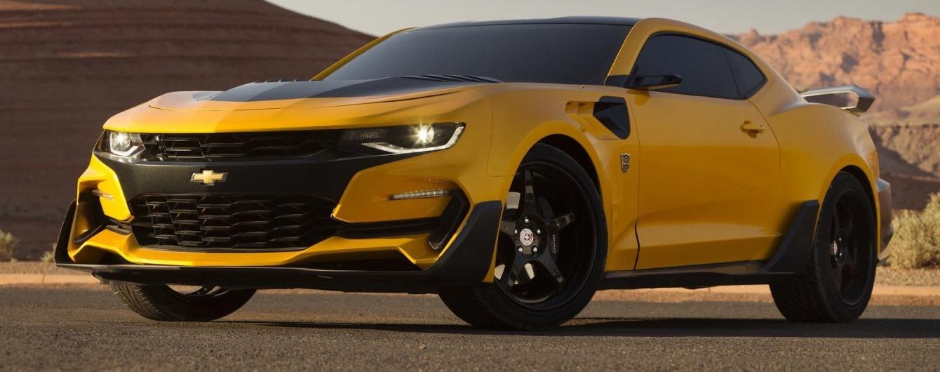 В GM подготовили Chevrolet Camaro для новых «Трансформеров» 1