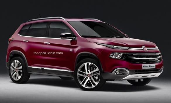 Fiat представит новый внедорожник 1