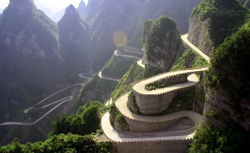 Наиболее опасные дороги мира 8