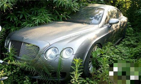 В Китае найдена свалка автомобилей с заброшенными Land Rover и Bentley 1