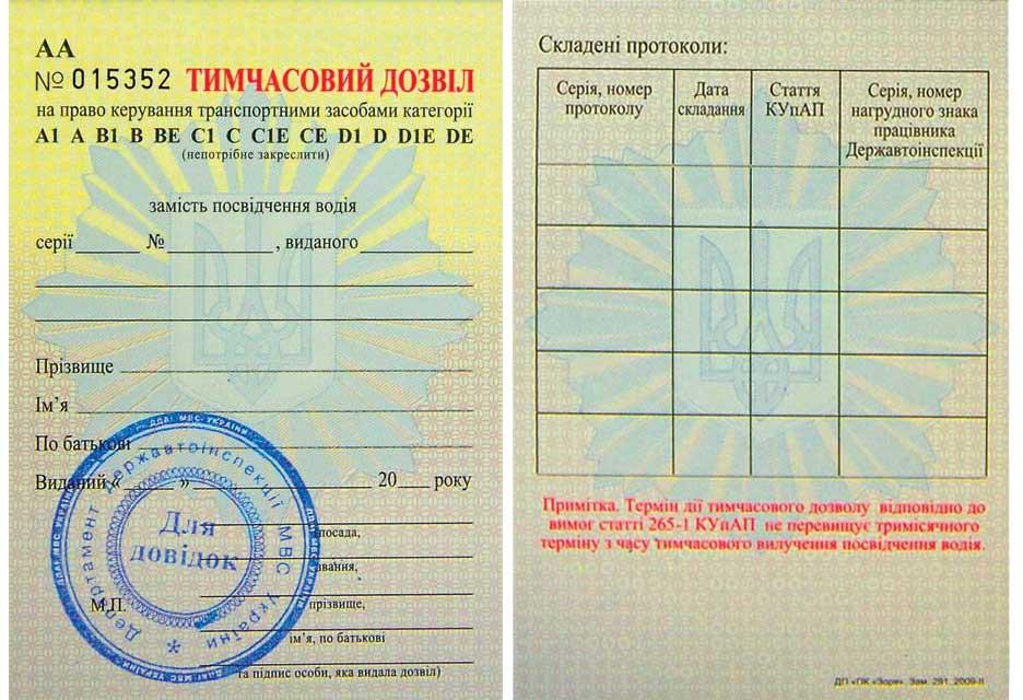 Как вернуть «отобранное» водительское удостоверение 1