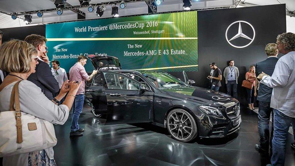 Новая модель Mercedes-Benz E-Class: 401 л.с. под капотом 1