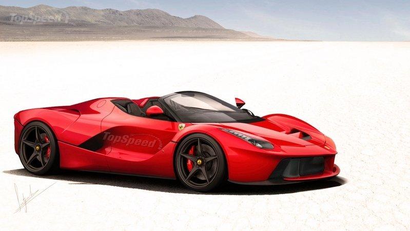 «Моделисты» показали внешность нового открытого Ferrari 2