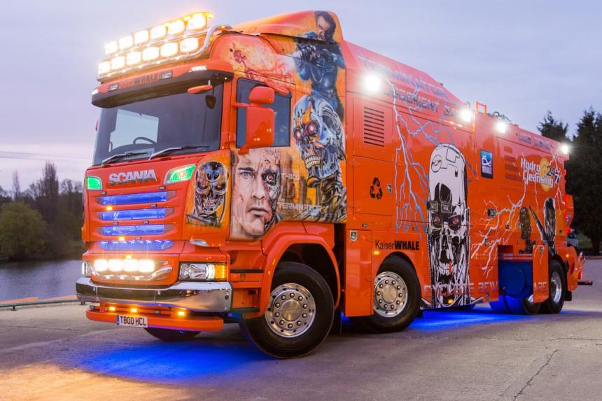 «Terminator»: грузовик-ассенизатор стоимостью 1 млн. евро 1