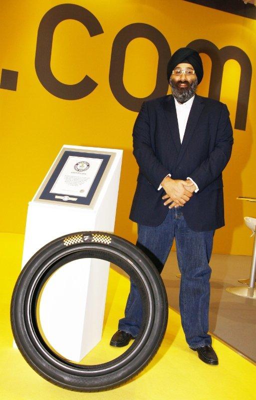 Комплект шин за $600 тыс. вошел в Книгу Рекордов Гиннесса 2