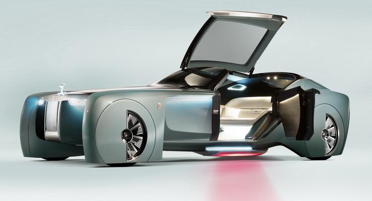 Компания Rolls-Royce презентовала первый концепт в истории бренда 2