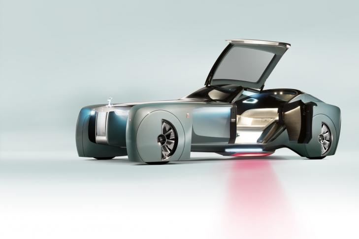 Компания Rolls-Royce презентовала уникальный автомобиль 1