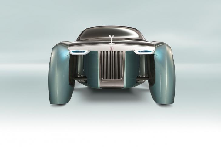 Компания Rolls-Royce презентовала уникальный автомобиль 2
