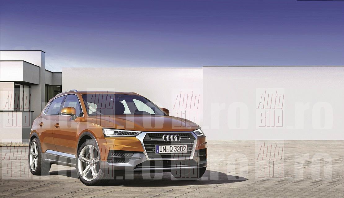 Обновленный Audi Q3 получил более агрессивный дизайн 1