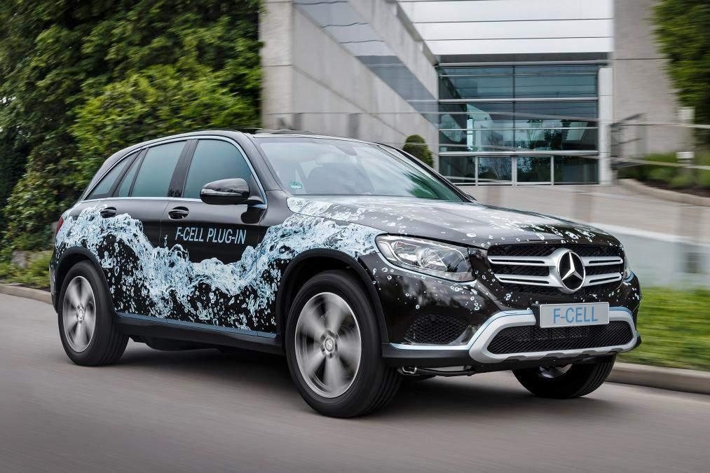 Mercedes-Benz строит водородный кроссовер 1