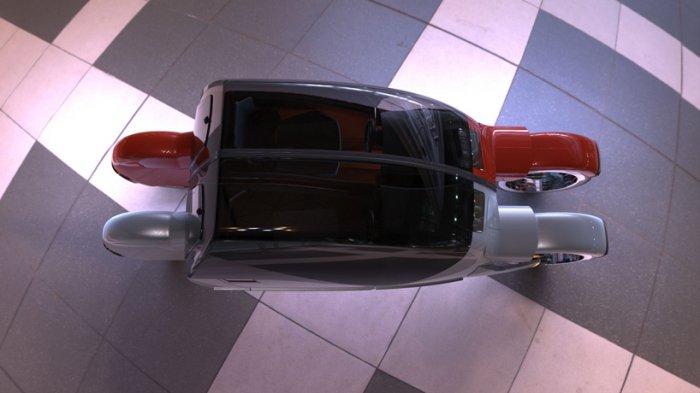 Agrodesign представила концептуальное авто, состоящее из двух мотоциклов 2