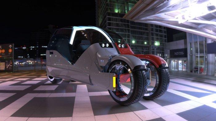 Agrodesign представила концептуальное авто, состоящее из двух мотоциклов 3