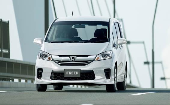 Рассекречена очередная новинка – Honda Freed 1