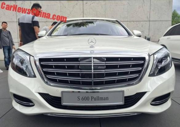 Первый Mercedes-Maybach S600 Pullman обретет владельца 2