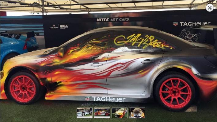 Дизайнеры креативно раскрасили автомобили 4
