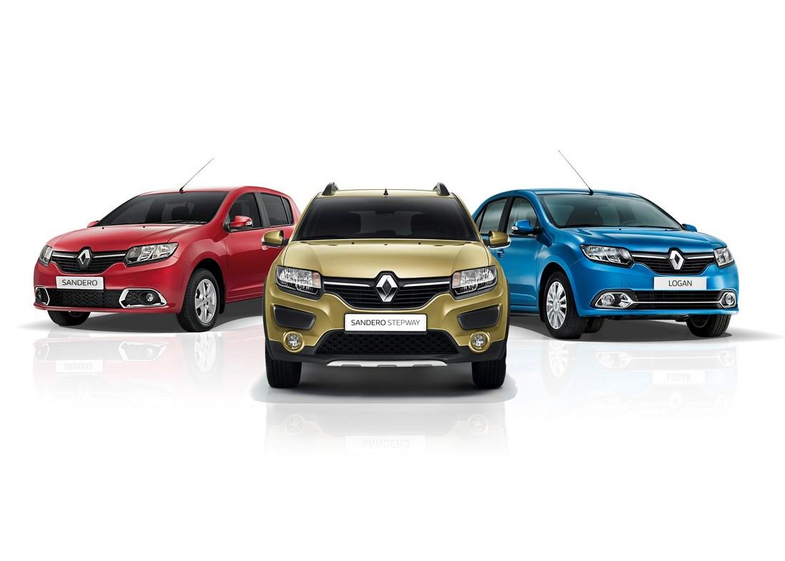 Renault Logan, Sandero, а также Sandero Stepway обзаведется новыми двигателями 1