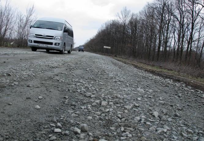 Укравтодор составил рейтинг наихудших дорог Украины 1