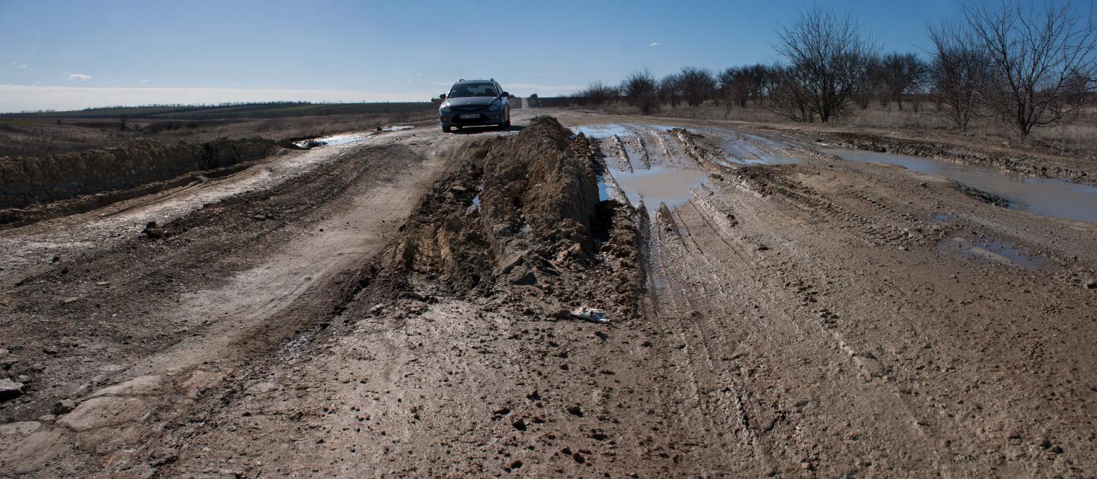 Укравтодор составил рейтинг наихудших дорог Украины 9