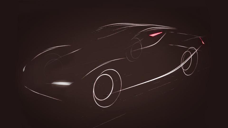 Начались испытания 900-сильного соперника Tesla Model S 1