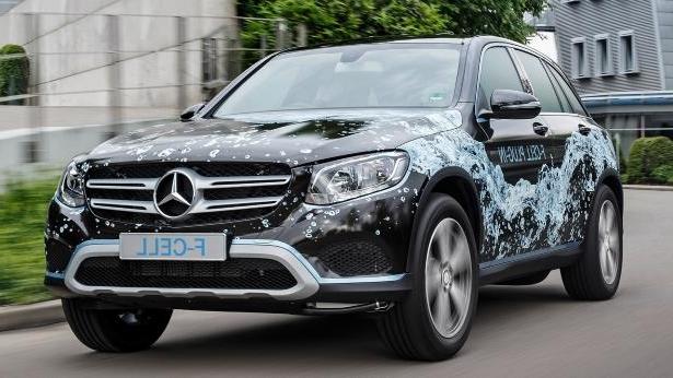 Mercedes-Benz строит водородный кроссовер 2