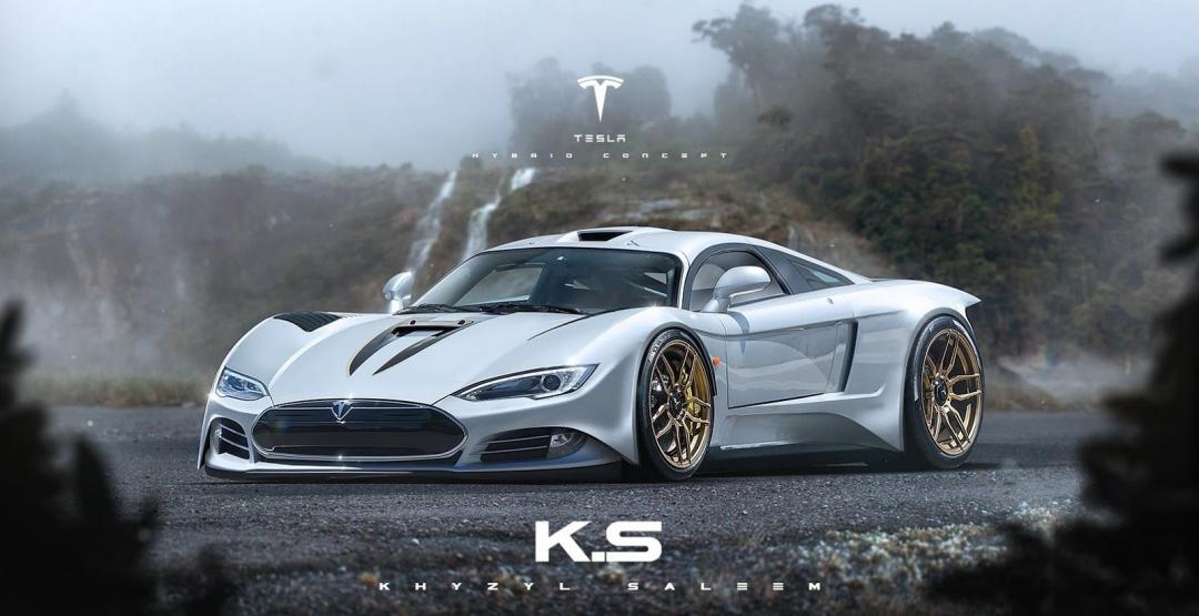 Эксперты дали оценку новому суперкару Tesla R45 1