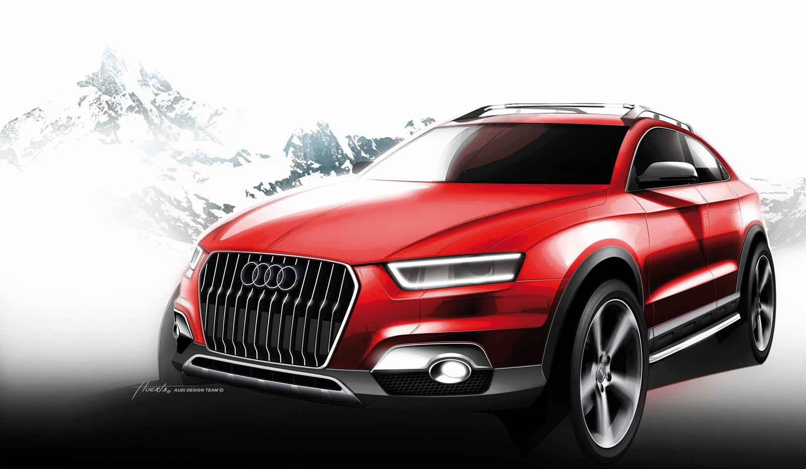 Компания Audi выпустит новый кроссовер 1