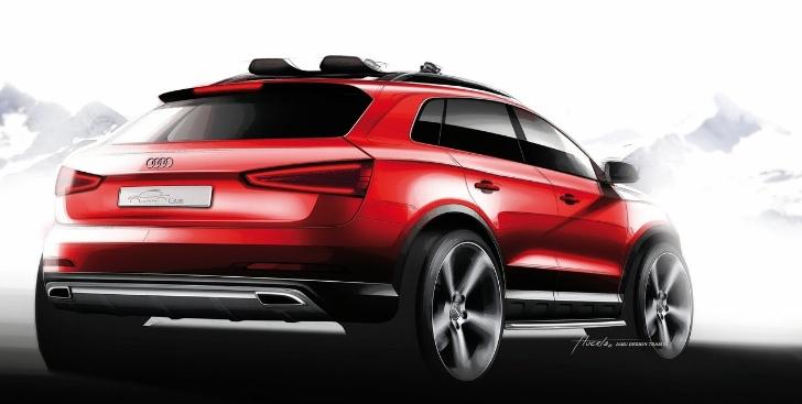 Компания Audi выпустит новый кроссовер 2