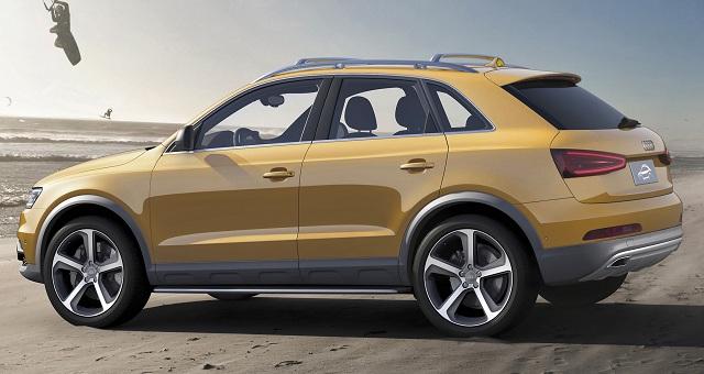 Обновленный Audi Q3 получил более агрессивный дизайн 2