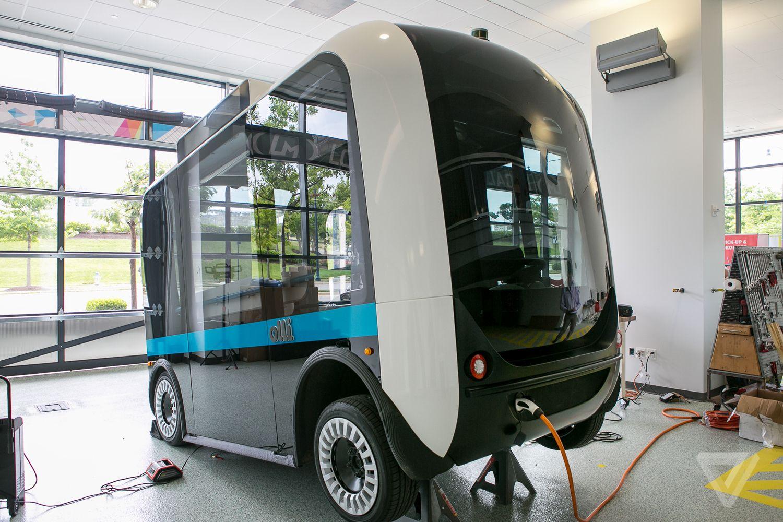 На дорогах Америки появятся автобусы, распечатанные на 3D-принтере 1