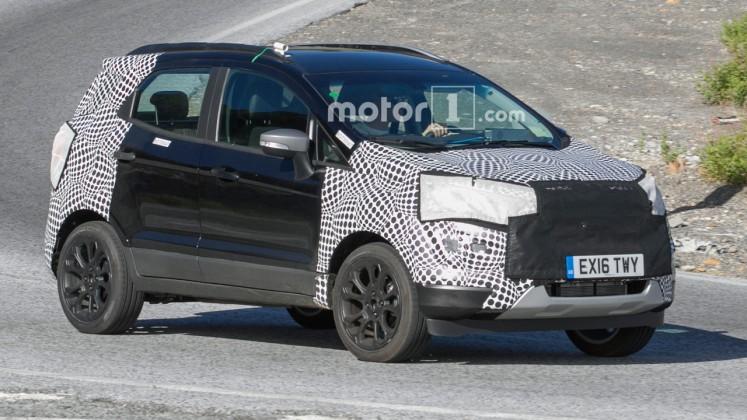 Ford вывел на тесты обновленный EcoSport 1