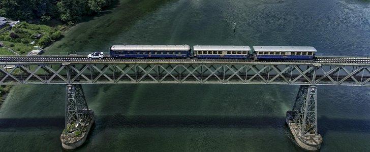 Land Rover Discovery Sport протянул поезд массой 100 тонн 2