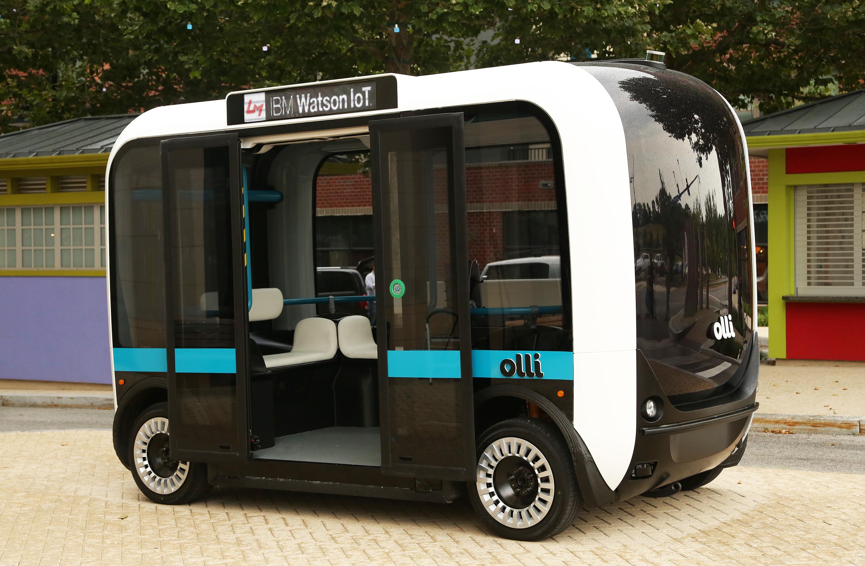 На дорогах Америки появятся автобусы, распечатанные на 3D-принтере 2