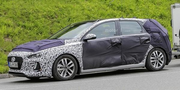 Hyundai испытывает новый i30 2