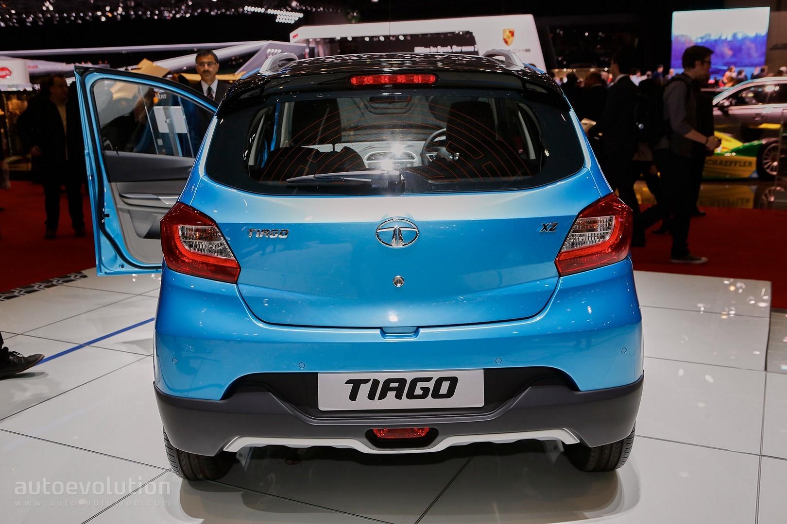 Tata приступила к производству нового Tiago Aktiv 1