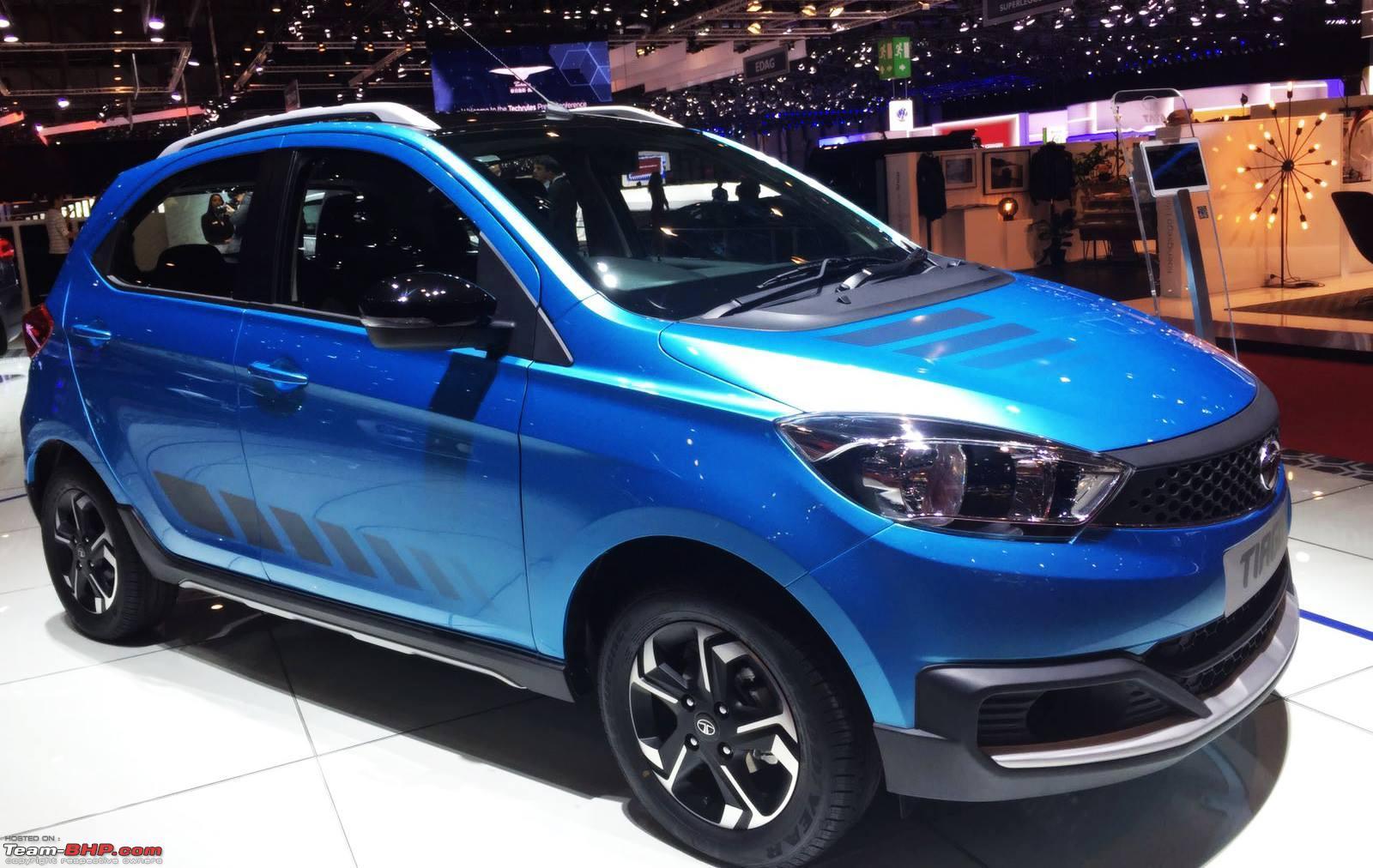 Tata приступила к производству нового Tiago Aktiv 2