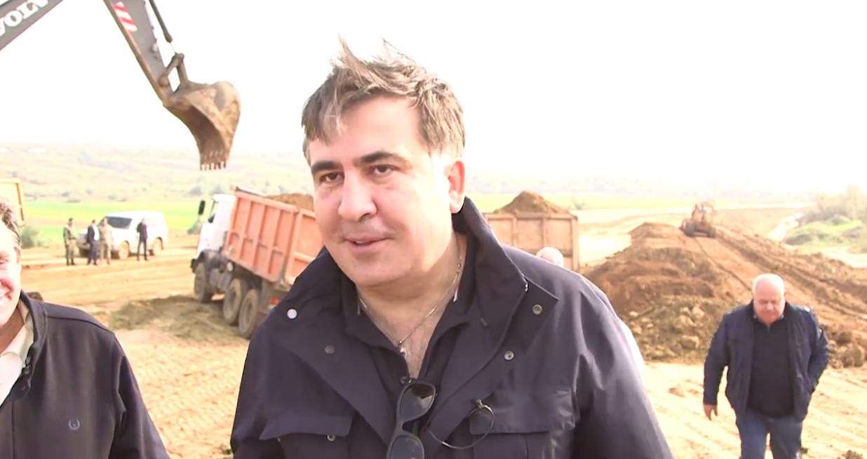 Михеил Саакашвили анонсирует строительство автобана 1