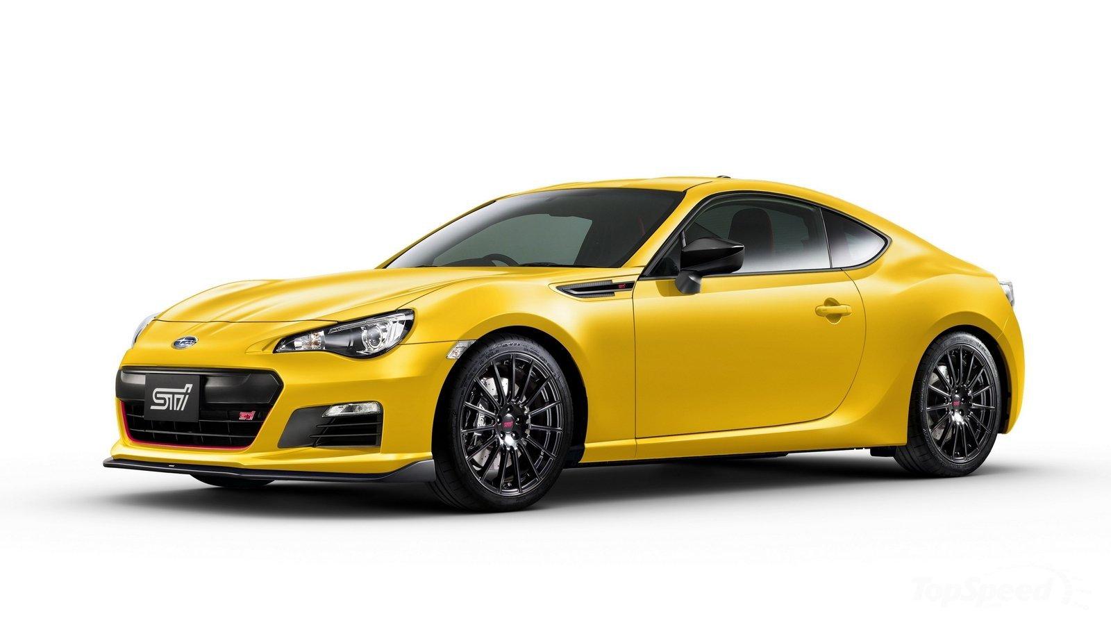 Subaru презентует спецверсию купе BRZ в желтой окраске кузова 2