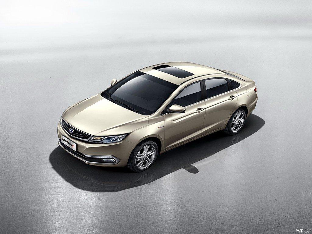 Компания Geely рассекретила седан Emgrand GL 2