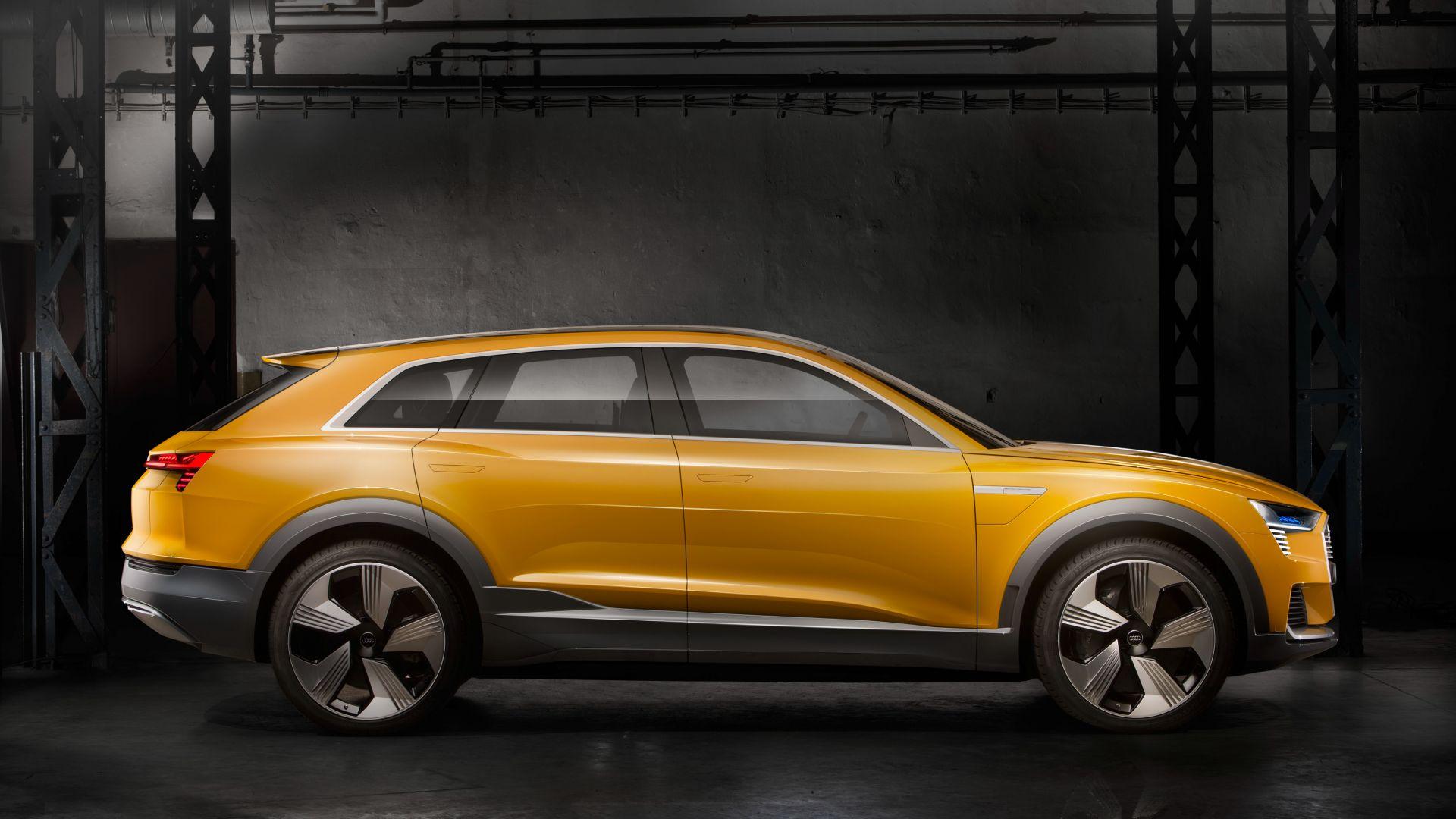 Audi выпустит водородный кроссовер 1