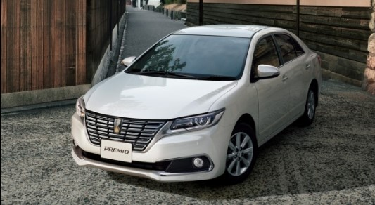 Компания Toyota обновит седаны Allion и Premio 1