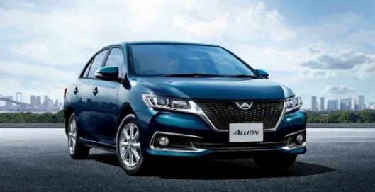 Компания Toyota обновит седаны Allion и Premio 2