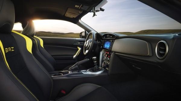 Subaru презентует спецверсию купе BRZ в желтой окраске кузова 1