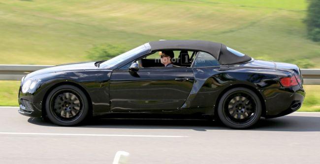 В Сети обсуждают снимки нового Bentley Continental GT 1