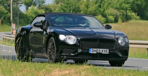 В Сети обсуждают снимки нового Bentley Continental GT 2