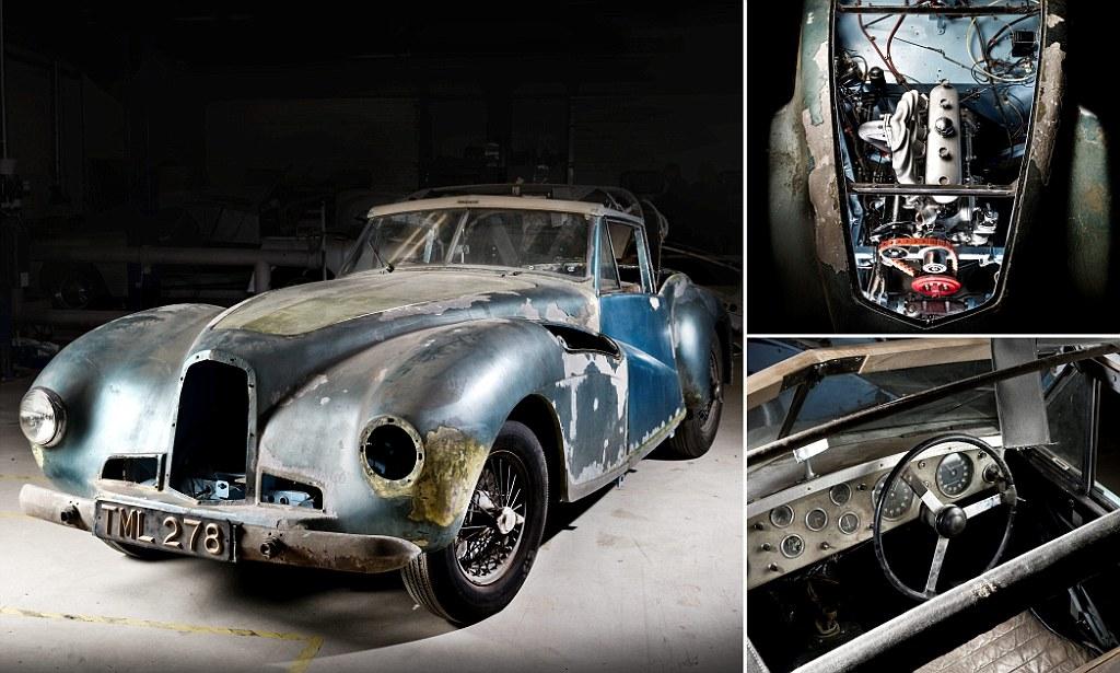 Aston Martin, угнанный 14 лет назад, выставили на аукцион за $1,3 млн 1