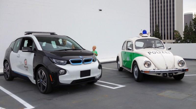 Американские копы пересядут на электрокары BMW 3