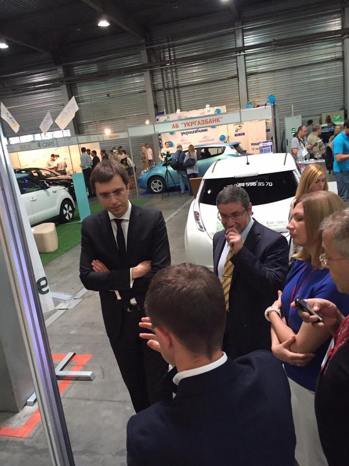 Украинский рынок электромобилей вырос втрое 1