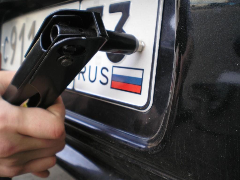Крымчанин арестован за езду на автомобиле с украинскими номерами 1