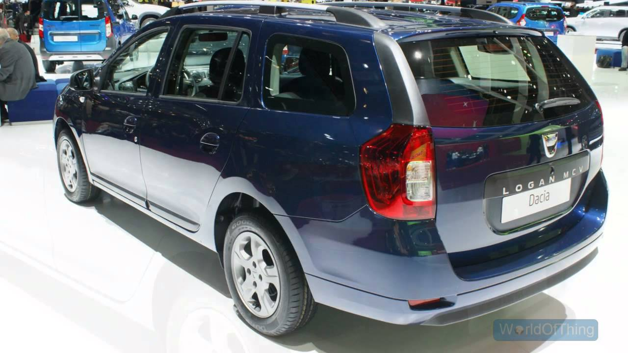 Марка Dacia презентует две новые модели 1